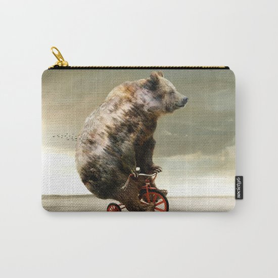 Happy Bear Carry-All Pouch