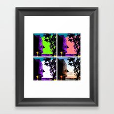 objectifs Framed Art Print