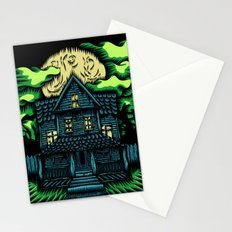 Haunted House Stationery Cards