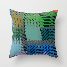 Springing Throw Pillow