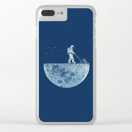Space walk Clear iPhone Case