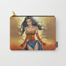 Steampunk WonderWoman Carry-All Pouch