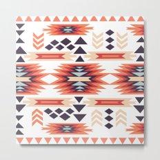American Native Pattern No. 28 Metal Print