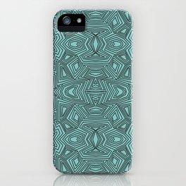Geo Trip Pattern iPhone Case