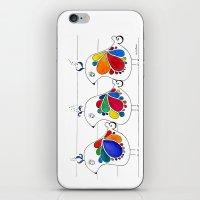 folk iPhone & iPod Skins featuring folk by Gosia&Helena