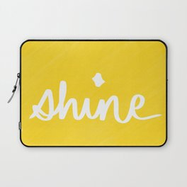 Shine on Yellow Laptop Sleeve
