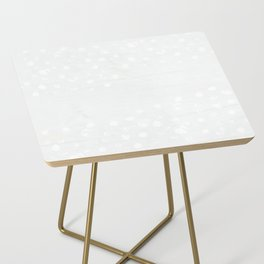 Dappled Grey and White Side Table
