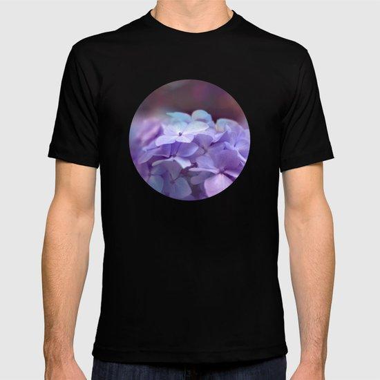 butterflies flower T-shirt