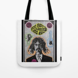 Tribute to Frank Zappa Tote Bag