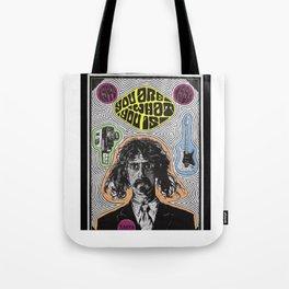 Tribute to Frank Zappa Tote Bag