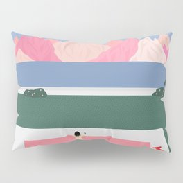 Poolside Views Pillow Sham