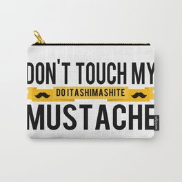 DO ITASHIMASHITE Carry-All Pouch