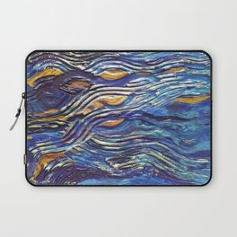 Abstract nautical background Laptop Sleeve