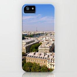 Paris Rooftops iPhone Case