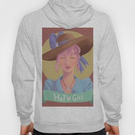 Hat Girl - Candy Color Hoody
