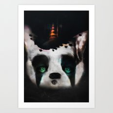 Dog ( Capalau) Art Print