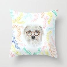 Studious Fizzy Throw Pillow