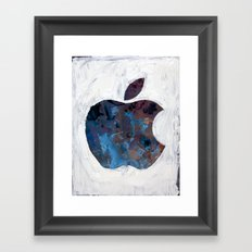 Painted Apple Framed Art Print
