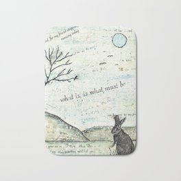 Watership Down Encaustic Bath Mat
