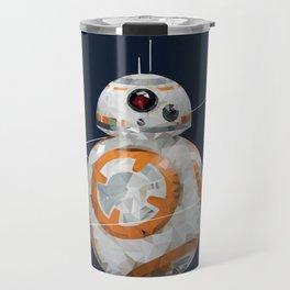 Low Poly BB-8 Travel Mug