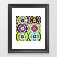 The Lie is a Round Truth, No. 6 Framed Art Print