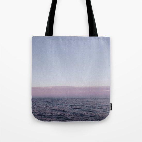 Calm sea before sunrise Tote Bag