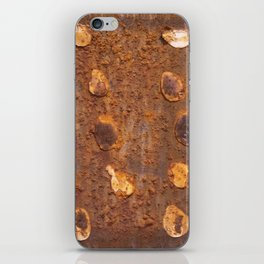 Rusty too iPhone Skin