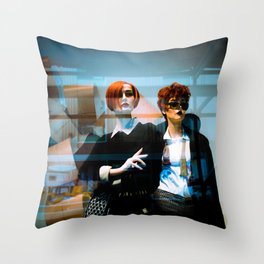 Mannequin Noir Throw Pillow
