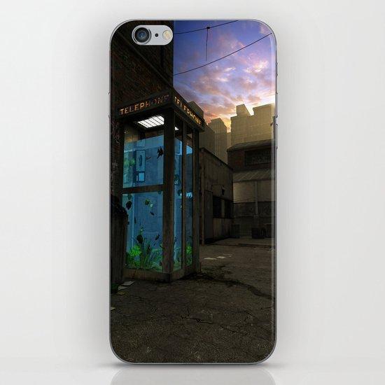 Phone Booth iPhone & iPod Skin