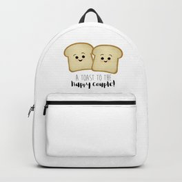 A Toast To The Happy Couple! Backpack