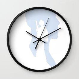 Rest In Peace Carrie Fischer Wall Clock