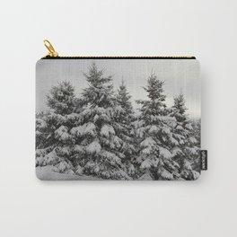 Winter White -Nova Scotia Canada Carry-All Pouch