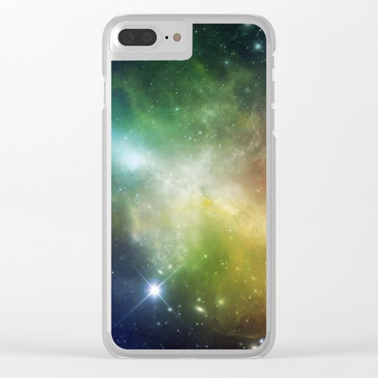 Universe 06 Clear iPhone Case