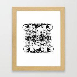 Entropy (Inverse) Framed Art Print