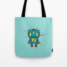Vintage Kid Robot Tote Bag