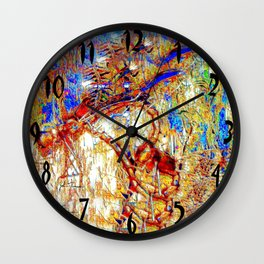 Dragon Flies 2 Wall Clock