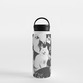 Cats Forever B&W Water Bottle