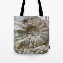 Curiosity #1 Ammonite Tote Bag