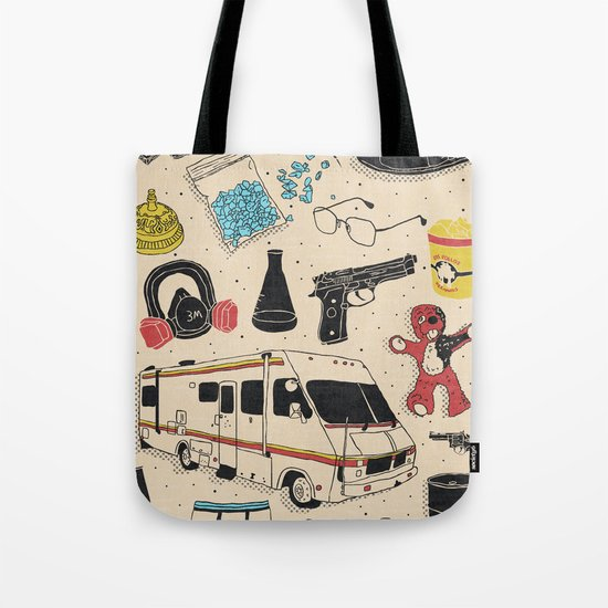 Artifacts: Breaking Bad Tote Bag
