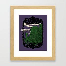 Chtulu - Doom Lord Framed Art Print