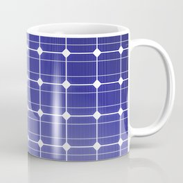 In charge / 3D render of solar panel texture Coffee Mug