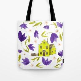 Crocus flowers Tote Bag