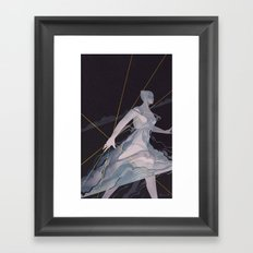The Approaching Storm Framed Art Print