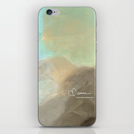 Abstract cloud iPhone Skin