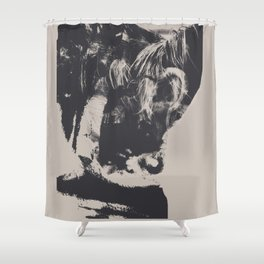 fucked, totally Shower Curtain