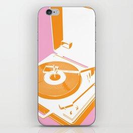 45rpm 33 1/3rpm 16rpm iPhone Skin
