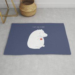 humble hippo  :) Rug