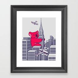 Koala Kong Framed Art Print