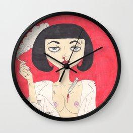 Mia Wallace (Pulp Fiction)  Wall Clock