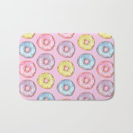 Donut Party Bath Mat